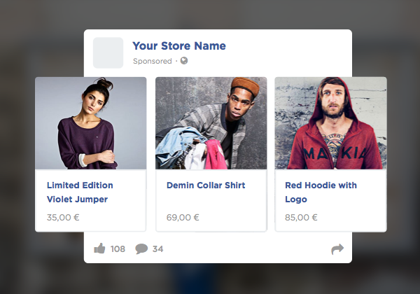 Personalized Facebook Ads feature