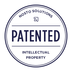Nosto Solutions patent badge