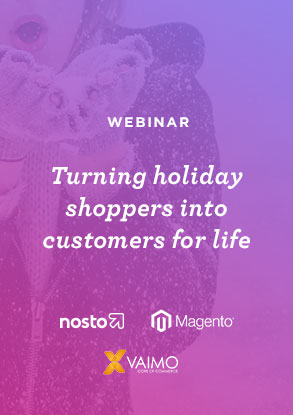 Turning holiday shoppers into customers for life